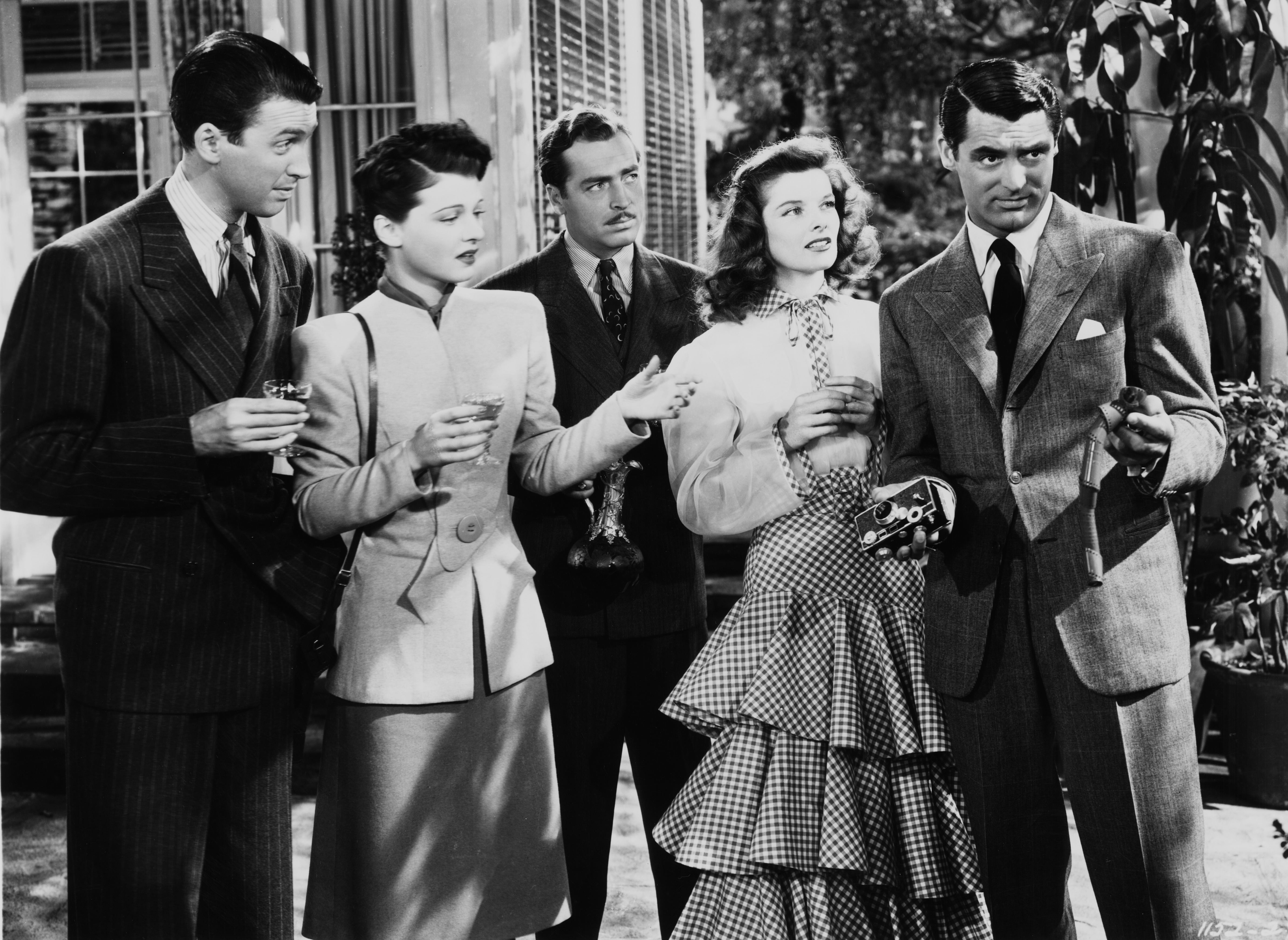 The Philadelphia Story ©1940 ©2018 All Rights Reserved. Courtesy of Warner Bros. Home Entertainment Inc.