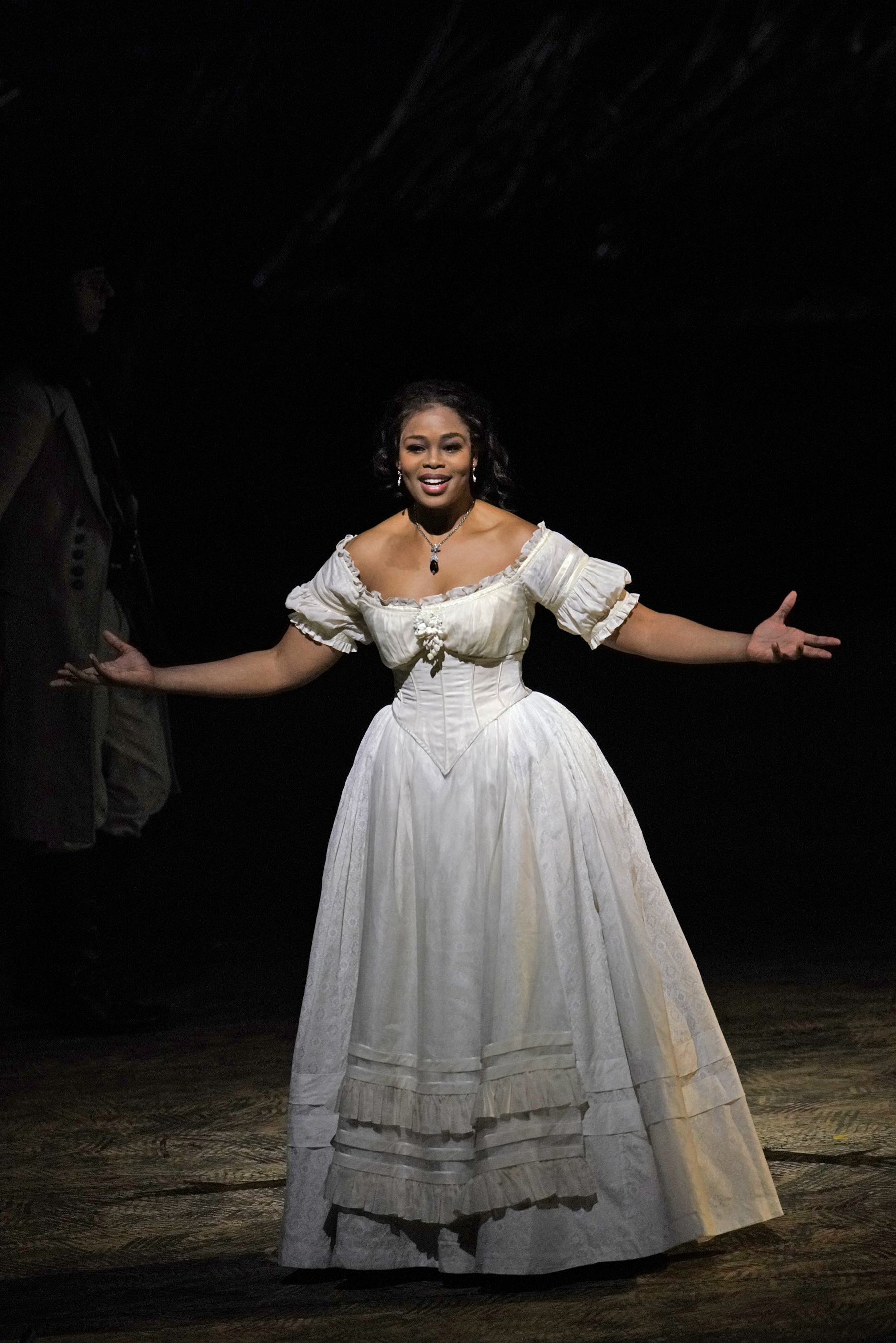 "Pretty Yende (pictured above in Donizetti's ""L'Elisir d'Amore"") sings Marie in Donizetti's ""La Fille du Régiment."" (Credit: Karen Almond)"