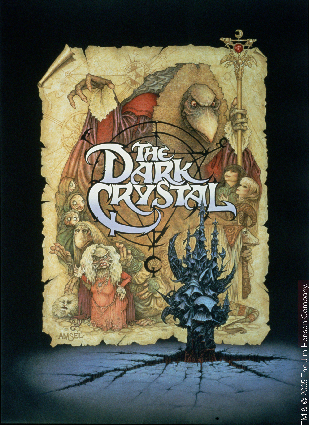The Dark Crystal - Original Poster