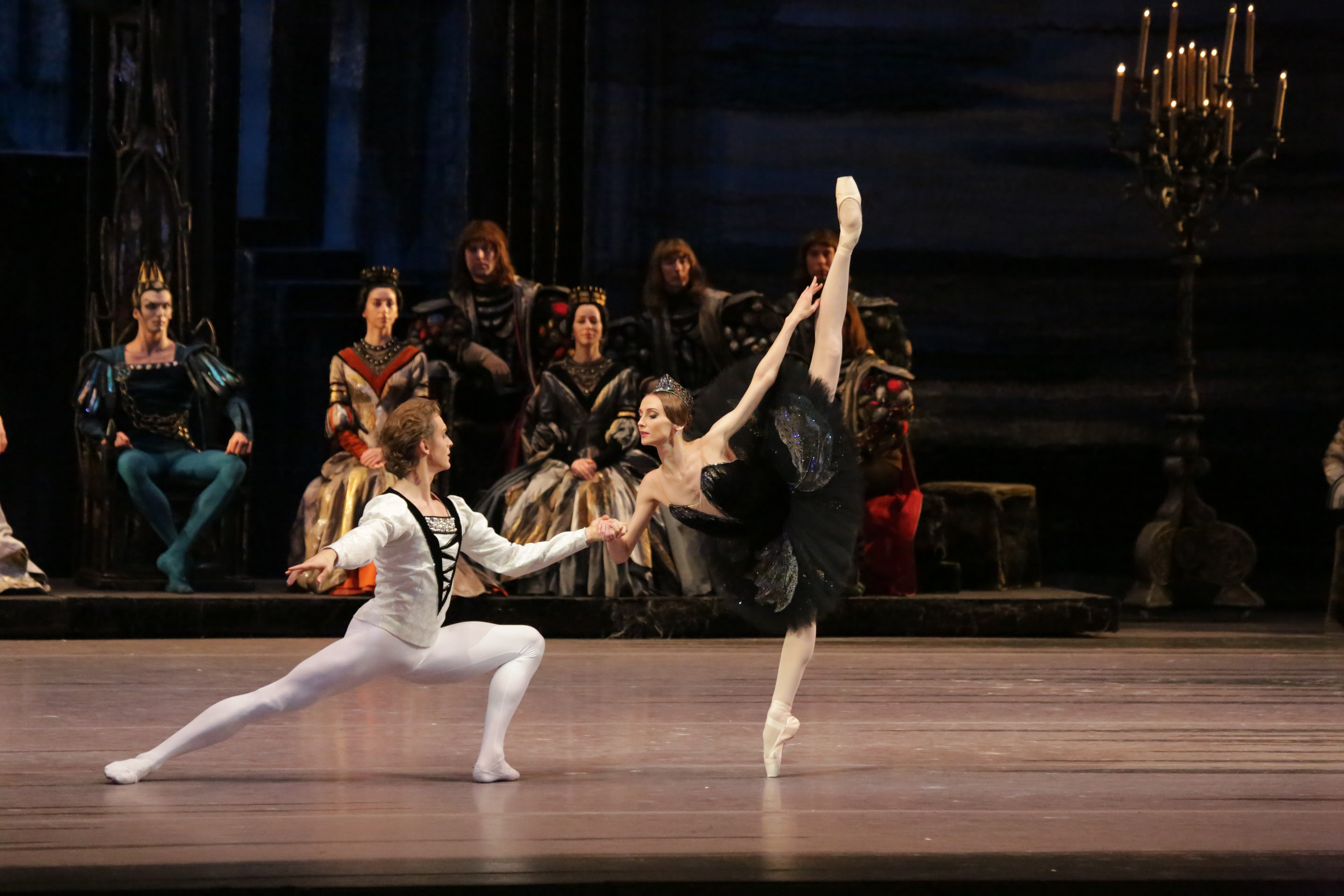 Swan Lake - Svetlana Zakharova and Denis Rodkin (Credit: Damir Yusupov)